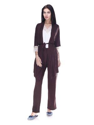 Комплект: халат, майка і штани | 3612249