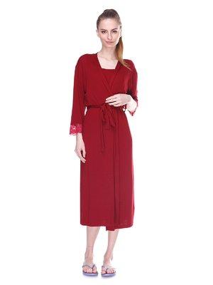 Комплект: халат та нічна сорочка | 3612253