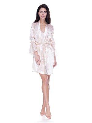 Комплект: халат та нічна сорочка | 3612291