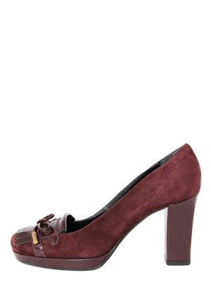 Туфли бордовые | 3631532