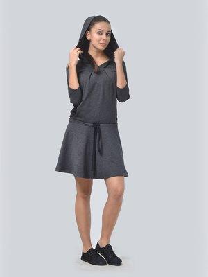 Сукня графітового кольору | 3591675