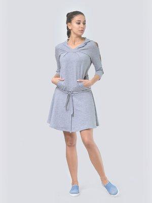 Сукня світло-сіра | 3591676