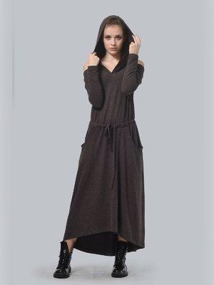 Платье коричневое | 3633843
