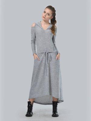 Сукня світло-сіра | 3633845