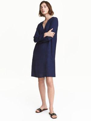 Платье темно-синее | 3615897