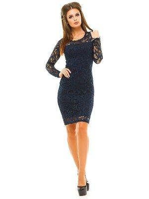 Сукня темно-синя | 3638962