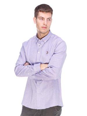 Рубашка фиолетовая | 3623665