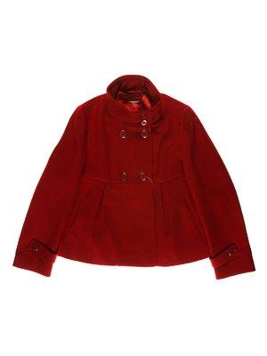 Пальто темно-красное | 3614231