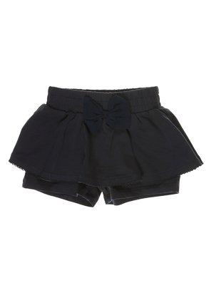 Спідниця-шорти чорна | 3639175