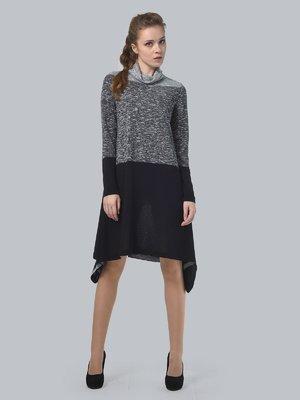 Платье серо-черное | 3621733