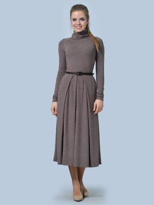 Платье цвета мокко | 3644165