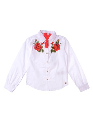 Сорочка біла з вишивкою | 3645095