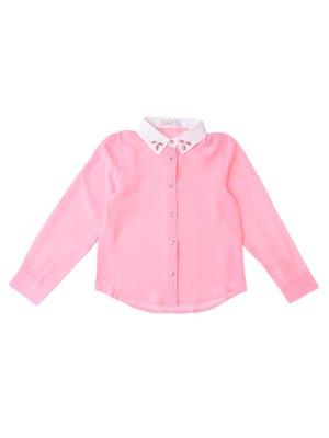 Рубашка розовая | 3645109