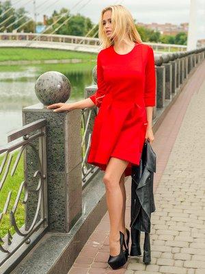 Платье красное | 3646145