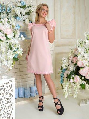 Платье персикового цвета | 3646360