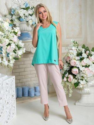 Блуза мятного цвета | 3646395