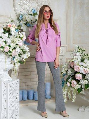 Блуза лилового цвета | 3646402