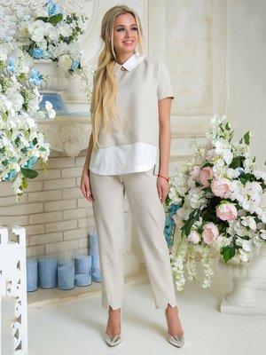 Костюм: блуза и брюки | 3646424