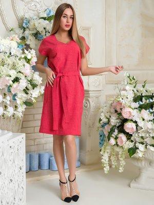 Платье коралловое | 3646430
