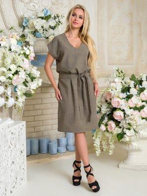 Сукня кольору хакі | 3646433