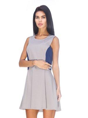 Платье двухцветное | 3478963