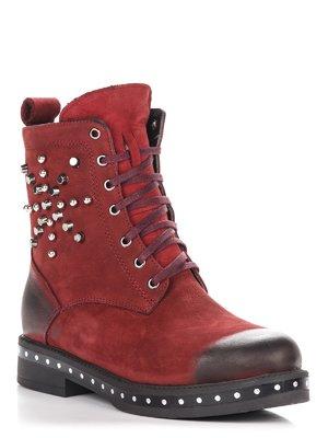 Ботинки бордовые | 3645128