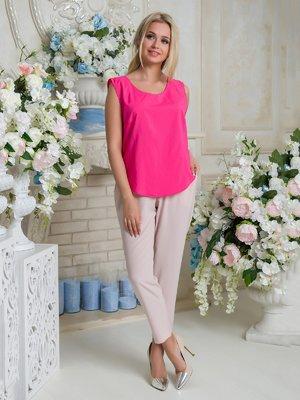 Блуза малинового цвета | 3646459