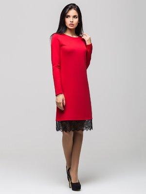 Платье красное | 3652075