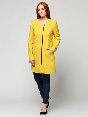 Пальто желтое | 3652657