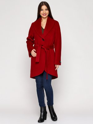Пальто бордове | 3652685