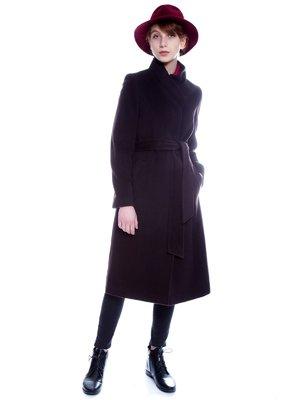 Пальто коричневе | 3652785