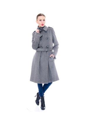 Пальто сіре | 3652839