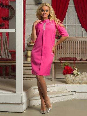 Платье розовое | 3646140