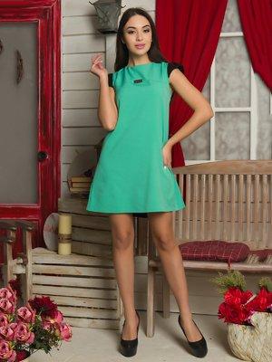 Платье бирюзовое | 3646187
