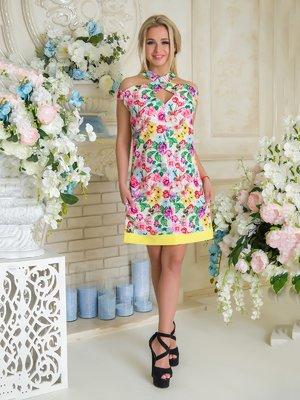 Сукня в квітковий принт | 3646438