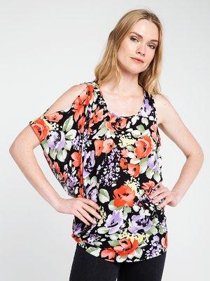 Блуза в квітковий принт   3646638