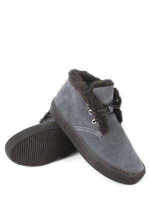 Ботинки серые   2817131