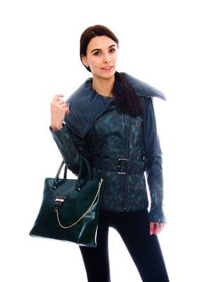 Куртка з камуфляжним принтом | 3655002