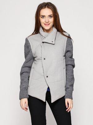 Куртка сіра | 3655041
