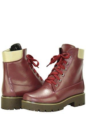 Ботинки бордовые | 3656765
