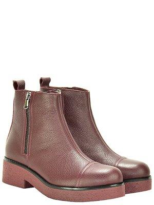 Ботинки бордовые | 3656773