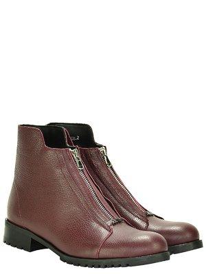 Ботинки бордовые | 3656799