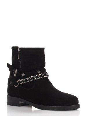 Ботинки черные   3602018