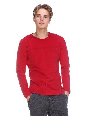 Лонгслив красный | 3636152