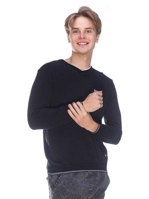 Пуловер черный | 3636184