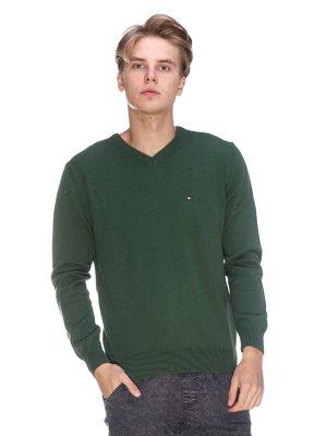 Пуловер зеленый | 3636180