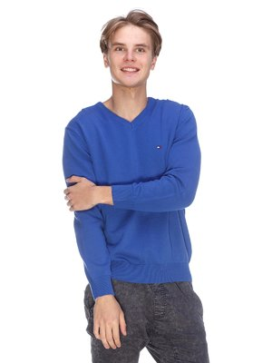 Пуловер цвета электрик | 3636181