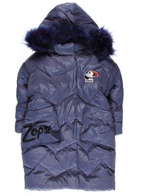 Пальто світло-синє | 3655929
