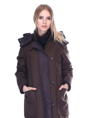 Пальто темно-коричневе   3568199