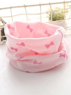 Шарф-снуд рожевий в принт | 3664163